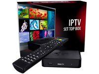 IPTV set top boxes (254 mag) UK spec