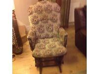 Dutailier gliding rocking chair
