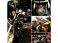 Stunning Keeway 125, 2014 replica of Harley Davidson