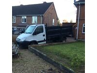 2008 Iveco pickup high sided not transit tipper