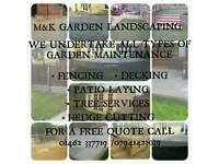 M&K MAINTENANCE LANDSCAPE GARDEN SERVICES