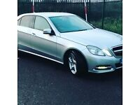 Pco Mercedes E300 to rent
