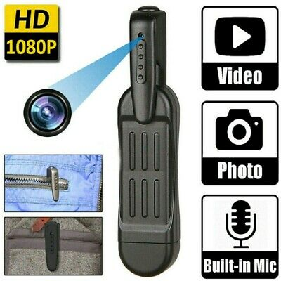 Portable 1080P Pocket Pen Hidden HD Mini Body Camera Video Recorder DVR Home VVV