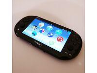 PlayStation Vita w/ 64GB Memory Card & Travel Pouch