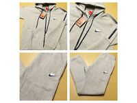 Brand New With Tags Men's Nike Grey Hooded Tracksuit £25