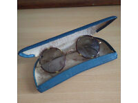Vintage tinted sun glasses early 20th Century