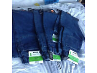 new mens jeans size 30 inch waist, 31 inch leg from asda george x4 pairs. bundle
