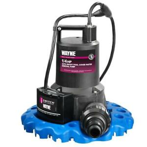 NEW Wayne WAPC250 1/4 HP Automatic On/Off Water Removal Pool Cover Pump