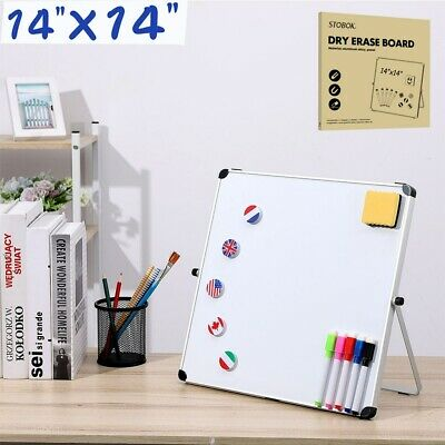Stobok Dry Erase Board Kids Drawing Board Magnetic Home School Writing Board