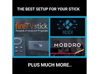Amazon Fire TV sticks fully loaded with the latest and best Kodi and Mobdro