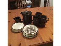 Retro Vintage 1970s Coffee Set