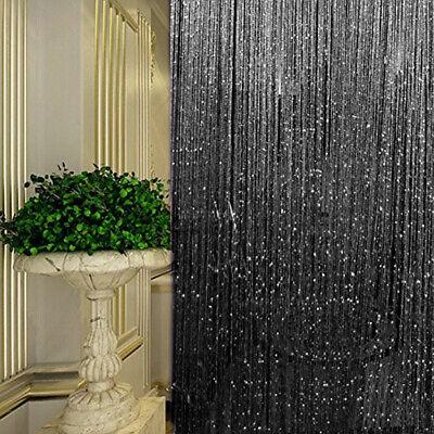 String Door Curtain Beads Room Divider Tassel Crystal Fringe Window Panel - Fringe Door Curtain