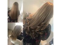 Hair extensions colour cuts Blowdry balayage