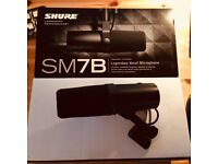 Shure SM-7B Microphone - AS NEW