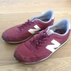 New Balance trainers, size 5 in good condition.