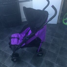 Lovely prams with rain cover and winter cosy
