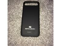 Iphone 7 portable battery charging case / Black
