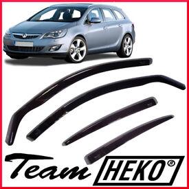 HEKO Wind Deflectors for Vauxhall Astra Sports Tourer 2011 - 2015 Estate