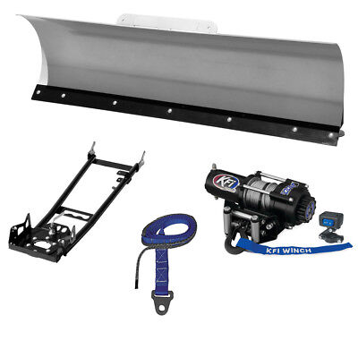 "KFI 48"" Pro-Series Snow Plow System - 2014 Honda TRX420 Rancher AT DCT IRS 4x4"