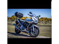 Suzuki bandit 650 road legal sell or swap
