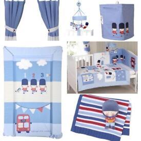 Complete Little Soldier Nursery Set