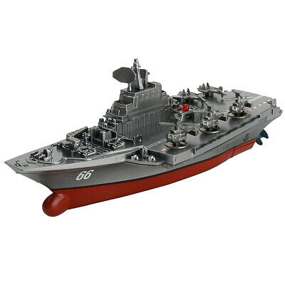 Control remoto Watercraft RC Micro Barco de juguete AIRCRAFT CARRIER Navy