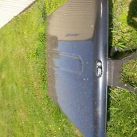 Must go make offer! Tonneau cover and bed rug