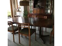 Dining Table & Chairs by dyrlund