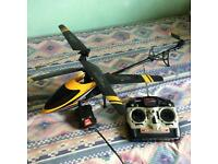 HELICOPTER REMOTE CONTROL MINT CONDITION USED 6 TIMES