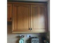 Range of kitchen units,cupboards and drawers