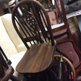 Job lot of 50 x country farmhouse dining chairs