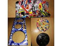 Remapping, Hydro dipping and Wrapping