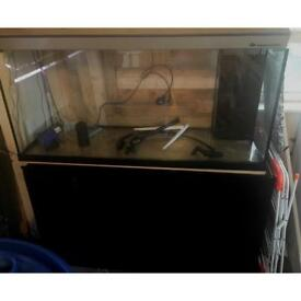 4ft fish tank with 3ft sump