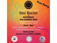 Desi Events Proudly Presents Desi Bazzar