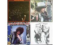 Bob Dylan on vinyl - 4 great albums