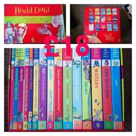 Various books - Roald Dahl, Dean Koontz, Star Wars, gears of war, mass effect, bourne & more