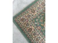 Large Green rug 170cm x 230cm
