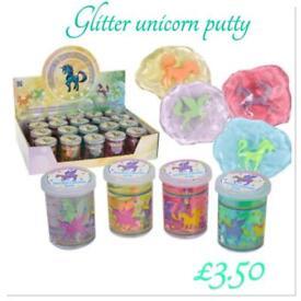 Glitter unicorn putty