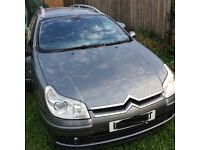 Citroen c5 estate diesel auto 55 plate for spares or repair