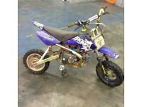 Thumpstar Pro 125cc pit bike not ped 50cc 110cc road legal pitbike quad gokart off road