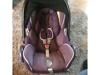 Maxi cosi car seat purple
