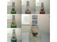 BASIL SEED GLASS BOTTLE DRINKS
