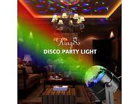 Mini RGB LED Crystal Magic Ball Stage Effect Lightin