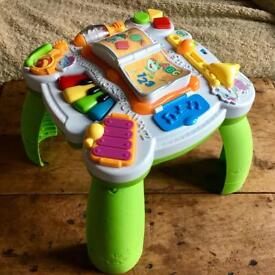 Kids activity table by leap frog