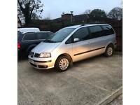 2001 SEAT ALHAMBRA 1.9 TDI 6 SPEED NOT VW SHARAN GALAXY MPV