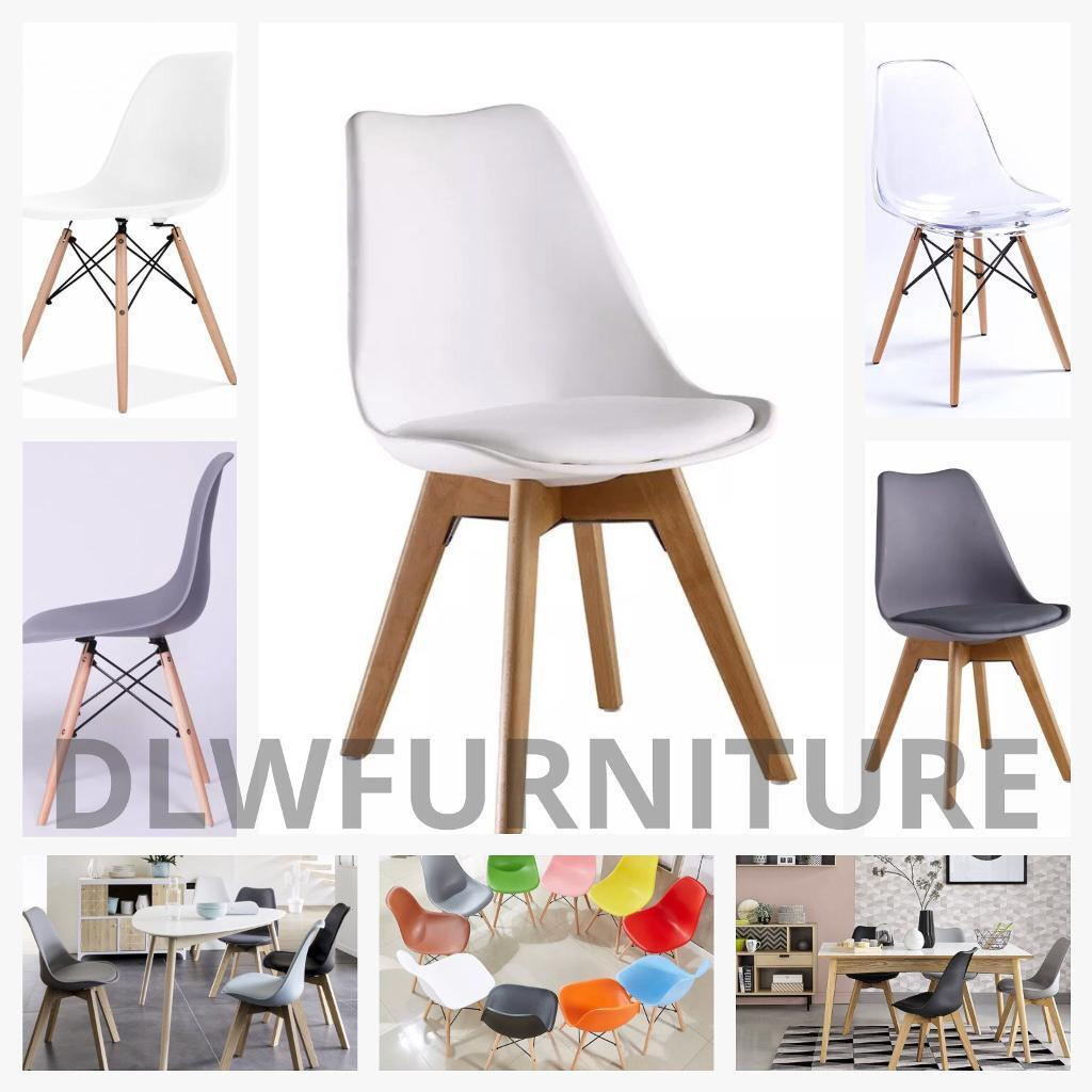 Modern eiffel and tulip style chairs dining office bar home shop wholesale contact furniture