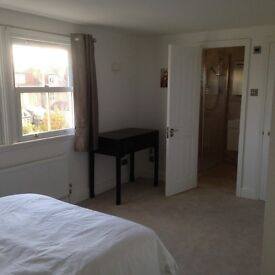 **Fantastic double room with en-suite, Mon-Fri let, ideal for professional, close to tube & rail**