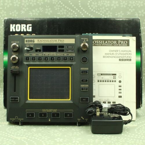 KORG KO-1PRO Kaossilator Pro Dynamic Phrase Synthesizer Loop Recorder 029505
