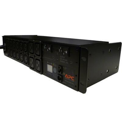 "APC AP7811 Metered Server Rack PDU 19"" Rackmount 30amp Power strip 208v 2U"