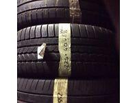 225/40/18 Contintental Winter tyres x2